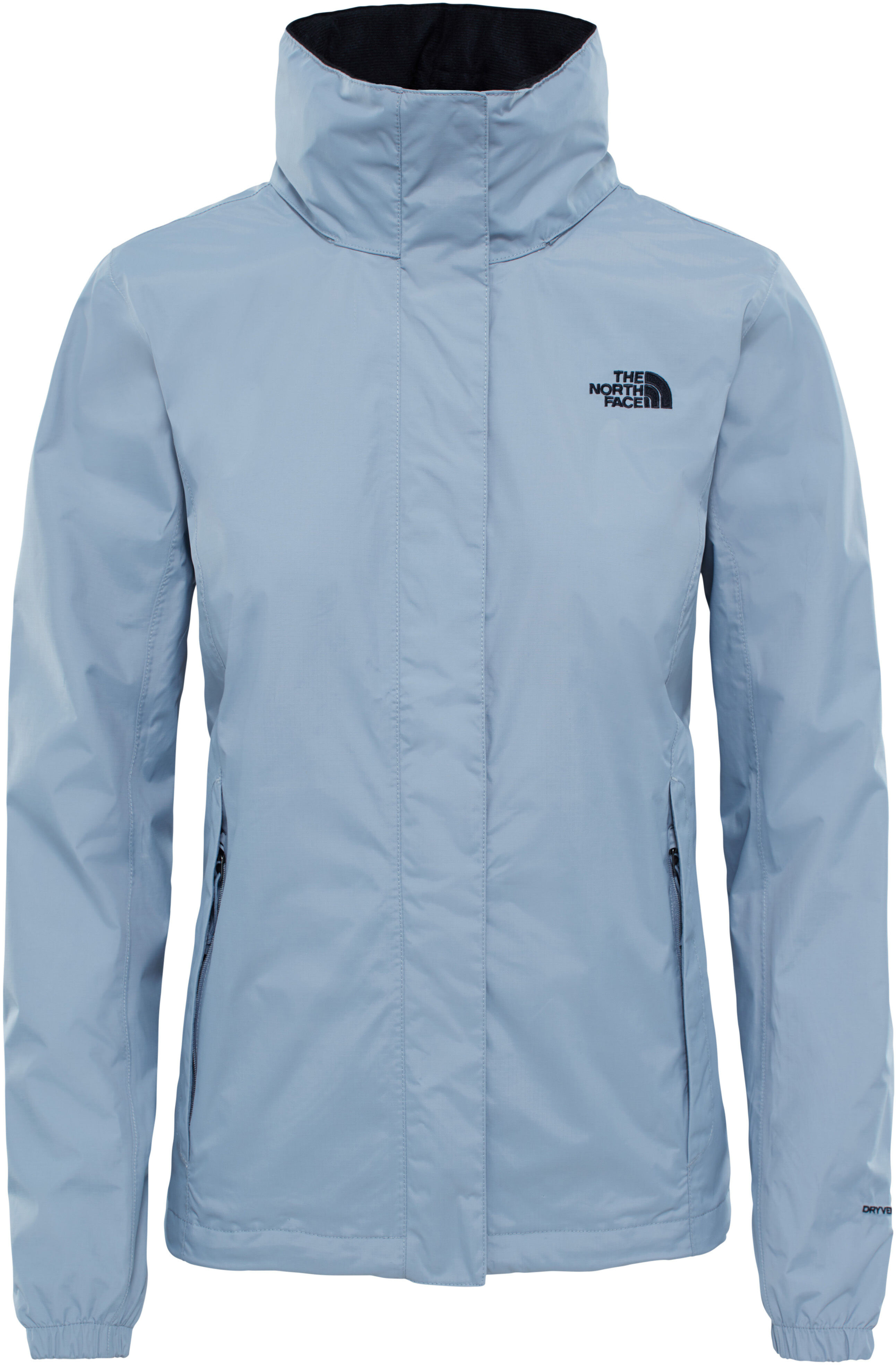 86180e6038 The North Face Resolve 2 Veste Femme, mid grey/tnf black sur CAMPZ !